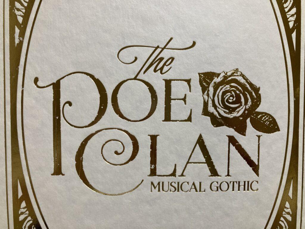 ミュージカル「ポーの一族」のパンフレット表紙